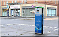 J3373 : E-car charging point, Belfast (3) by Albert Bridge