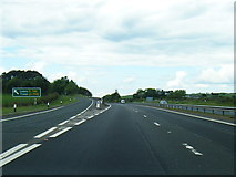 NS3530 : B746 leaves the A78 northbound by Colin Pyle