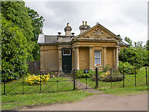 SP4416 : Hensington Lodge, Blenheim Palace grounds by David P Howard
