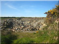 SX1787 : Small quarry beside the road at Trelay by Rod Allday