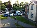 SJ3454 : Grounds and car park of Premier Inn, Gresford by Darrin Antrobus