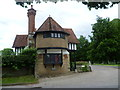 TQ8033 : Entrance lodge to Benenden School by Marathon