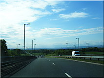 NS6055 : A727 South Road looking towards Glasgow by Colin Pyle