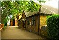 TQ3290 : St Benet Fink church hall, Walpole Road by Julian Osley