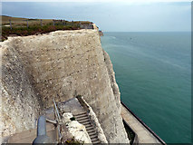 TQ4200 : Cliff, Peacehaven Heights by Robin Webster