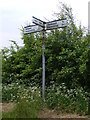 TM3480 : Roadsign on Rumburgh Road by Adrian Cable