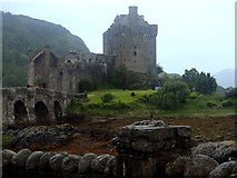 NG8825 : Eilean Donan Castle by Andrew Hill