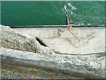 TQ4200 : Down the cliff, Peacehaven Heights by Robin Webster
