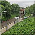 SK5343 : Cinderhill Tram Stop by John Sutton