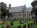 SO3205 : St Peter's Church and churchyard, Goetre by Jaggery