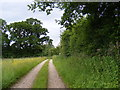 TM3277 : Entrance of Vicarage Farm & The Old Vicarage by Adrian Cable
