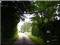 TM4080 : Entrance to Manor Farm by Adrian Cable