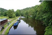 SD9625 : The Rochdale Canal near Eastwood by Bill Boaden