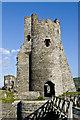 SN5781 : Aberystwyth Castle by Ian Capper