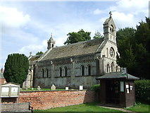 SK8572 : St.Helen's Church, Thorney by JThomas