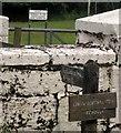 SS9328 : Byway sign, Louisa Gate by Derek Harper