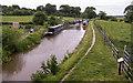 SJ8458 : Macclesfield Canal from Bridge 86 by Kim Fyson