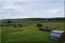 SD9825 : Farm equipment at Lower Rough Head by Bill Boaden