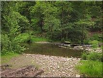 SS9529 : Ford across the River Haddeo by Derek Harper