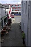 HU4741 : Floatel as seen from Commercial Street, Lerwick by Mike Pennington