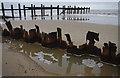 TG3831 : Happisburgh beach by Ian Taylor