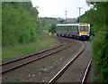 J3978 : Train approaching Holywood station by Rossographer