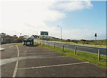 NS2005 : The junction of the A719 with the A77 by Ann Cook