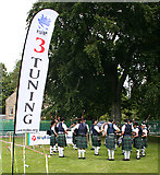 NJ0459 : European Pipe Band Championships 2013 (5) by Anne Burgess