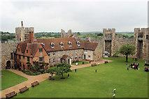 TM2863 : Framlingham Castle by Stuart Logan