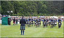NJ0459 : European Pipe Band Championships 2013 (10) by Anne Burgess