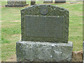 NS0956 : Gravestone of Moses Martin and Margaret Buchanan by Thomas Nugent