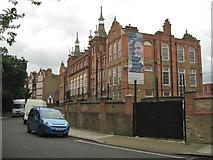 TQ3176 : Charles Edward Brooke School, Cormont Road by Robin Stott