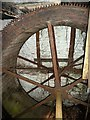 NT5530 : The waterwheel at Maxpoffle Sawmill by Walter Baxter