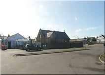 NS2107 : The car park beside Maidens Church by Ann Cook