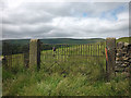 SD6545 : Waterworks gate on the path to Whitewell by Karl and Ali