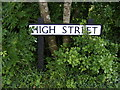 TM3683 : High Street sign by Adrian Cable