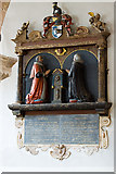 SX9192 : St Mary Arches church, Exeter - monument to Thomas Walker by Mike Searle
