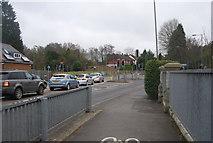SU9557 : A322, Brookwood Bridge by N Chadwick
