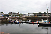 NH7867 : Cromarty Harbour by Peter Church