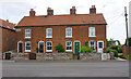 TG3724 : Terraced cottages, Stalham by Ian Taylor