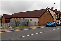 ST1599 : Kingdom Hall of Jehovah's Witnesses, Aberbargoed by Jaggery