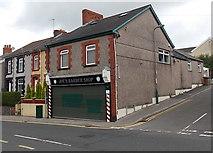 ST1599 : Joe's Barber Shop, Aberbargoed by Jaggery