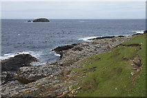 HP5605 : Looking towards the Vere from Houllnan Ness, Westing by Mike Pennington