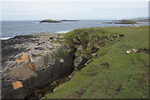 HP5605 : The Westing holms from Houllnan Ness by Mike Pennington