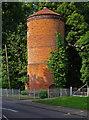 TL2708 : Brick water tower, Essendon by Julian Osley