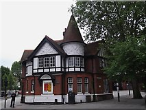 TQ2284 : Willesden Green Library, High Road NW10 by Robin Sones