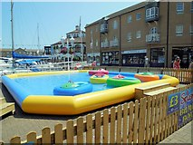 TQ3303 : Miniature Boats, Brighton Marina by Paul Gillett
