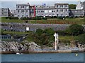 SX4753 : Welcome to Plymouth in flowers by David Smith