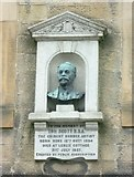 NT4728 : Tom Scott bust in the High Street by kim traynor