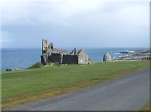 NS2515 : Dunure Castle and Dovecot by Ann Cook
